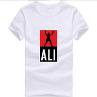mma shirt - New Fashion Mens MUHAMMAD ALI Boxing T Shirts Sport Fitness Casual man clothing MMA Short Sleeve T shirt