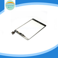 camera mini tablet pc - iPad Mini With IC Chip Home Button Camera Bracket Adhesive Screen Glass Touch Panel Replacement Tablet PC Assembly Flex Cable Digitizer