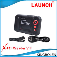 x431 launch free shipping Canada - [Authorized Distributer] Newly Design Launch X431 Creader VIII Code Reader 8 Automotive full System Scan tool same as CRP129 Free shipping