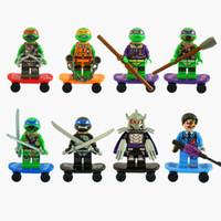 Wholesale Decool Teenage Mutant Ninja Turtles TMNT Figures Toys Building Blocks Sets Model Bricks Minifigures Toy