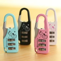 aluminium padlock - A06 mini lock fashion locks luggage locks mini padlock