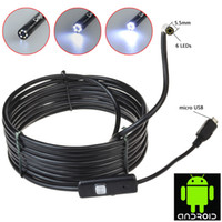 best inspections - Best mm led Android Waterproof HD P Mini USB Endoscope Camera Borescope Inspection With M Cable CD Driver Hook Magnet