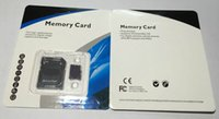 Wholesale dhl shipping GB GB GB GB Class Micro SD TF Memory Card Non brand Adapter Retail Package Flash SDHC C10 Cards Transflash