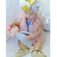 Wholesale Babies Children Tassels Cardigans Knitting Vests Candy Color Casual Sweaters Cute Boys Girls Stylish Jackets outwears hand made