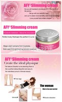 Wholesale 2PCS AFYSlimming Creams Traditional Chinese Medicine Losing Weight Stomach Fat Burning Weight Loss Body Wrap Slimming Products