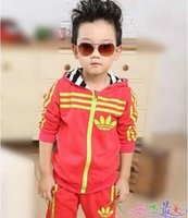 boys and girls clothing - Autumn New Fashion Brand children s clothing Baby Boys and Girl Clothing Set Children sports suit Kids Costumes boy s suit
