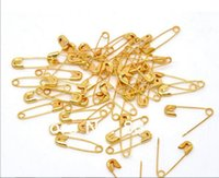 Wholesale Gold Plated Safety Pins Findings