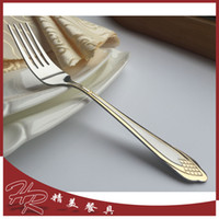 Wholesale JK Brand New Salad Meat Cake Fork Spoon Knife Knives Fork Tableware Dinnerware Stainless Steel Cutlery Christmas Gift
