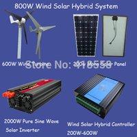 Wholesale 800w free energy generator w wind generator solar panel w w wind solar inverter w wind solar hybrid controller