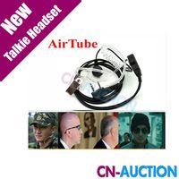 Wholesale Acoustic Air Tube Earpiece Walkie Talkie Headset Radio Headphone Throat Microphone for Baofeng UV R RE UV B5 BF s