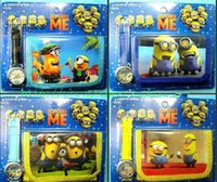childrens toys and gifts - Despicable Me D Minions watch and wallet sets kids childrens Cartoon Wristwatch Kids Birthday Christmas Gift toys
