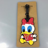 Wholesale cartoon TRAVEL TAG unisex cute lovely luggage tag cartoon movie popular cute luggage tag hot sale christmas gift