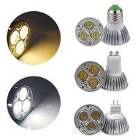 Wholesale High Power Dimmable GU MR16 E27 W W W W LED Spotlight led lighting led bulbs led lamp