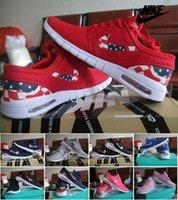 sports shoes skateboard - Nike SB Stefan Janoski Max American Flag Running Shoes For Men Women Cheap Original Sports Running Skateboard Trainers Jogging Shoes