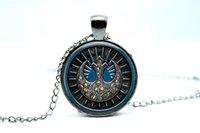 american vision - 10PCS New Jedi Order Symbol Pendant Necklace Glass Photo cabochon necklace vision