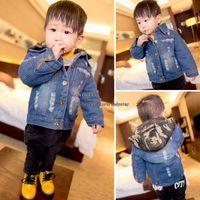baby boy denim jacket - Baby Coats Toddler Denim Jacket Children Outwear Kids Jacket Children Clothes Kids Clothing Children Jacket Winter Coat Boys Jackets L42835