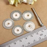 Wholesale 5X mm Diamond Cutting Discs mm Drill Bit For Rotary Dremel Jewelry Tool