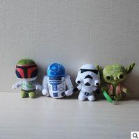 animal cloning - Star Wars Plush Toy Cute Cartoon Dolls Dark Warrior Clone Trooper Yoda Darth Vader Stuffed Animals Soft Doll cm F127