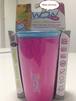 baby plastic cup - Brand New Wow Cup Spill Free Drinking Cup Brand New Wow Cup baby children no Spill drinking cup