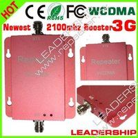 3g signal booster - Best price Newest WCDMA2100 G mobile phone signal booster mhz G repeater WCDMA booster G cell phone repeater