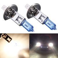Wholesale Hot Sale H1 W Halogen Lamp Super Bright White Car Auto Light Source Fog Headlight Parking Bulb DC12V