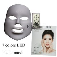 Wholesale new led facial mask led light therapy skin rejuvenation