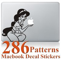 Wholesale Macbook Decals Stickers Mulan Panda Batman Pattern For Macbook Air Retina Pro Air Retina Pro inch