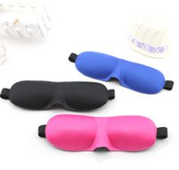 aviation mask - 23 D sleep protection stereoscopic goggles Polyester foam cutting aviation have nose sun goggles Leopard Sleeping Eye Mask