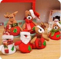 snowman decoration - Hot Selling The deer snowman Pendant for Chrismas tree christmas gift santa claus Christmas Decoration Supplies