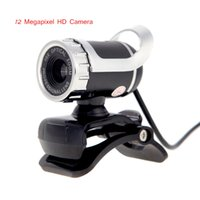Wholesale 12 Megapixel HD Camera USB Webcame Web Camera Degree with MIC Clip on Webcame for Desktop Computer Laptop order lt no track