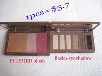 blush and eyeshadow basic pcs - 1PCS Flushed blush and basics color eyeshadow palette dropping shipping