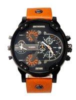 Wholesale 2015 hot Best Selling DZ Men s atmos Clock Leather Strap Watches Full Men Watch Steel Military Quartz Men s sports Wristwatch DZ7322 DZ7332
