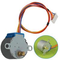 Wholesale New Motors V DC Phase BYJ Valve Gear Stepper Motor Reduction For Arduino VE510 W0 SYSR