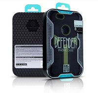 Wholesale For iPhone S Case Defender Neo Hybrid Tough Armor Slim Cover Cases