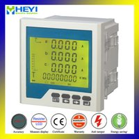 Wholesale Rh D6y Three Phase LCD Display Monitor Meter with Smart Digital Power Meter Multi Function Power meter