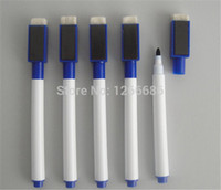 Wholesale 500pcs Whiteboard Marker Pen Dry Erase White Board Marker Pen with no magnets
