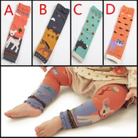 baby horse - Cartoon kids baby leg warmers baby boys girls socks knee length Deer Cat Horse Rhinoceros animal prints infant clothes HX
