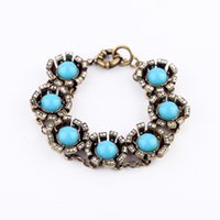 accessorize ring - New Hot Accessorize Jewelry Crystal Resin Zinc Alloy Blue Charm Accessories Crystal Bracelet Female