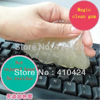 Wholesale Magic universal keyboard clean glue soft clean clay car laptop magic glue order lt no track