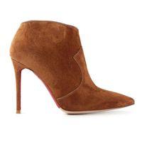 best cowboy boots for women - Difeina Fashion best boots for women Pointed Toe Ankle Boots Deerskin Leather Side Zipper Women s Martins Boots Stiletto Heel cm