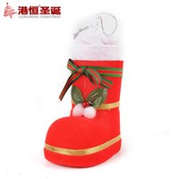 adorn boots - Christmas dress up cm cylinder arrangement is hanged adorn the boots tree decorations g supplies natal crafts hanging