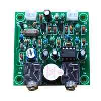 Wholesale Sensitive CW Short Wave Ham Radio Telegraph Transceiver7 MHz Transmitter Receiver DIY Transceiver Kit Newest DIY PIXIE Kit E0991