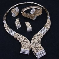 african jewelry - Fashion Brand African Jewelry Sets Gold Plated Cube Design Bridal Jewelry Sets A1186