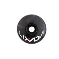 Wholesale LIXADA Brand Carbon Fiber Handlebar Top Cap Bicycle Headset Top Cap Stem Cover MTB Bike Part g Black