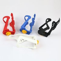 Wholesale Adjustable water bottle holder Cycling Mountain Bike Bicycle New Adjustable Plastic Water Bottle Holder Colors