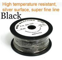 awg silver - High quality USA imported high temperature resistant wires silver AWG wire cable Multicolor optional W B G R Y Black