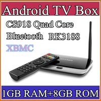 Wholesale 10PCS xbmc installed Bluetooth Version EKB311 MK888B CS918 quad core android tv box Android GB GB RK3188 nm Cortex A9 mini pc TV