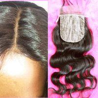 Cheap Brazilian Hair silk base Best Natural Color Body Wave brazilian body wave