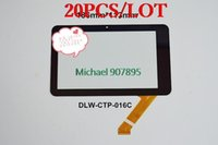 Wholesale 20PCS New inch Tablet capacitive touch screen handwriting screen outside screen number is DLW CTP C
