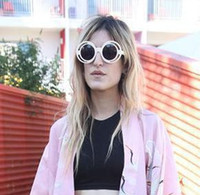 big glass house - HOUSE OF HOLLAND Eyewear Brand Sunglasses Jelly color Big double frame SUN GLASSES women Fashion Sun spectacles